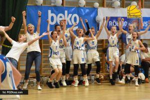 UKS Bat Kartuzy - MUKS Piaseczno. Pewne zwycięstwo zespołu z Kaszub na otwarcie mistrzostw Polski