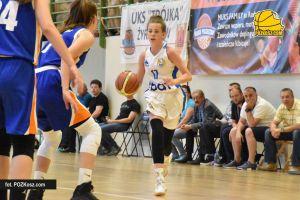 UKS Bat Kartuzy - KKS Pro-Basket Kutno. Baciki wygrały drugi mecz w Piasecznie i są pewne awansu do półfinału