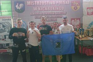 Nikola Zaborowska i Bartłomiej Leykowski z medalami Mistrzostw Polski w Kick - Boxingu Light - Contact 2018