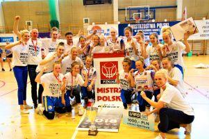 O tym, jak koszykarki UKS Bat z Kartuz i Sierakowic zostały mistrzyniami Polski U14