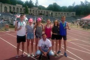 Lekkoatleci z Kartuz i Żukowa startowali w Memoriale Janusza Kusocińskiego i Mistrzostwach LZS