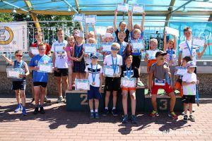 Triathlon MTB Kartuzy i Duathlon Kartuzy na Złotej Górze - zdjęcia z części dla dzieci i młodzieży (galeria nr 3)