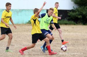 Międzyszkolny Turniej Piłki Nożnej w Somoninie. Gospodarze z ZSP pokonali młodszych kolegów