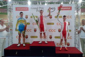 Szymon Sajnok z dwoma zwycięstwami rekordem Polski na torze, Patrycja Lorkowska druga w Nestle Fitness Tour de Toruń