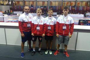 Andrzej Drewa, Natan Wolski i Olivier Godziński z Cartusii zadebiutowali w mistrzostwach Europy