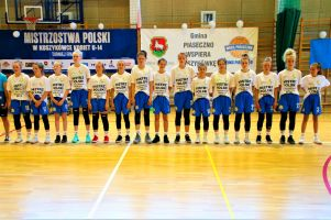 Siedem koszykarek z Kartuz i Sierakowic powołanych na zgrupowanie reprezentacji Polski U14