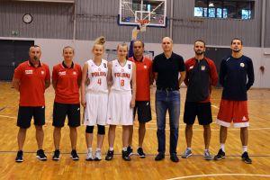 Kamila Kostuch i Aleksandra Ustowska zagrały w reprezentacji Polski U15 przeciwko Szkocji