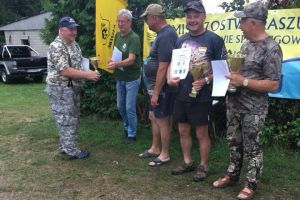 Tadeusz i Rafał Lehmannowie najlepsi w VII Mistrzostwach Kaszub w Wędkarstwie Spinningowym w Chmielnie