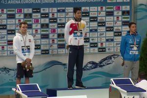 Jakub Skierka srebrnym medalistą Mistrzostw Europy Juniorów w Pływaniu 2016. Fantastyczny rekord życiowy