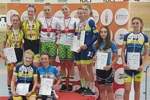 Zawodnicy Cartusii Kartuzy blisko medali Olimpiady Młodzieży w Kolarstwie Torowym