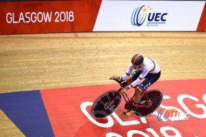 Szymon Sajnok bez medalu torowych mistrzostw Europy. Nieudany wyścig punktowy strącił go z podium omnium