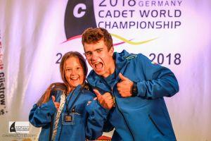 Żeglarze Lamelki Kartuzy i ŻUKS Stężyca w czołówce Mistrzostw Świata Klasy Cadet 2018 w Niemczech