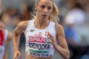 Angelika Cichocka w środę pobiegnie w półfinale Mistrzostw Europy w Berlinie