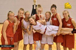 Koszykarki Batu po pierwszym obozie reprezentacji Polski U14. Trzy pojechały na turniej do Hiszpanii