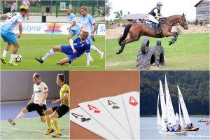 Pierwsze mecze, konne zawody, turniej juniorów w ten weekend