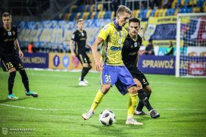 Mateusz Młyński zadebiutował w ekstraklasie. Piłkarz z Kobysewa świetnie zagrał w meczu Arka - Górnik