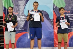 Paweł Teclaf z drugim medalem mistrzostw Polski, tym razem złotym
