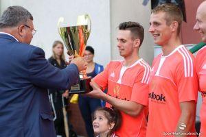 Turniej Piłki Nożnej o Puchar Burmistrza w Kartuzach 2016 - relacja, film i zdjęcia z finału New Look - Eden oraz wręczenia nagród