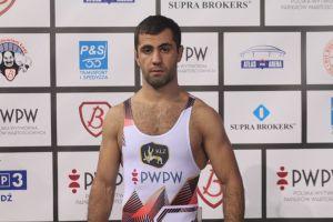 Gevorg Sahakyan w finale zapaśniczego Grand Prix Niemiec. W niedzielę powalczy o złoty medal
