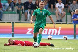 Górnik Konin - Radunia Stężyca. Lider III ligi w końcówce wywalczył kolejne zwycięstwo