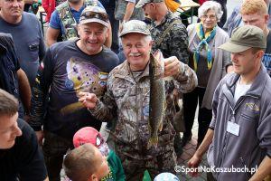 Sto osób wędkowało na Święcie Ryby Jeziornej w Ostrzycach