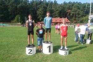 Kotłowska na podium igrzysk LZS, Różnicki, Adamczyk i Mikołajewska z medalami mistrzostw Pomorza