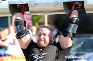 Strong Man Show już w niedzielę na Classówce w Stężycy. Wystąpią Maciej Hirsz i inni siłacze