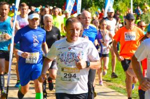 Bieg o Złotą Górę 2018. Około 400 zawodników pobiegnie trasą wokół jeziora Brodno Wielkie