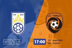 FC Kartuzy gra dziś w Kiełpinie z FC Toruń. W piątek przegrał z Gattą Zduńska Wola