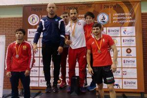 Gevorg Sahakyan z Cartusii Kartuzy złotym medalistą Memoriału Pytlasińskiego 2018