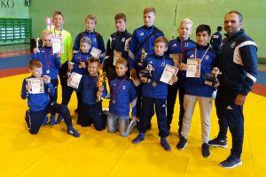 Zapaśnicy Cartusii Kartuzy rozpoczęli drugą część sezonu na zawodach w Miastku