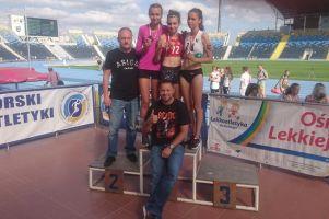 Mikołajewska, Gruchała i Różnicki zwycięzcami mistrzostw młodzików w Bydgoszczy