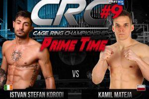 Kamil Mateja walczy w niedzielę na gali CRC w Dublinie. Możesz zobaczyć jego walkę w telewizji