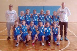 Żaczki Batu Kartuzy rozpoczęły sezon na X Ogólnopolskim Turnieju Koszykówki w Bydgoszczy