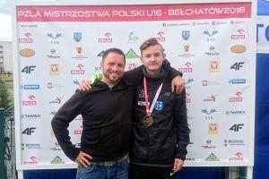 Krzysztof Różnicki znów pobił rekord Polski i zdobył złoty medal PZLA Mistrzostw Polski U16