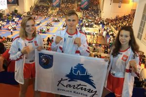 Armin Wilczewski z Rebelii Kartuzy medalistą Mistrzostw Świata Kadetów w Kick - Boxingu 2018 we Włoszech