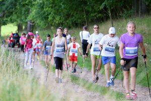 Małkowo - Puchar Bałtyku w Nordic Walking 2016 zgromadził na starcie prawie 200 uczestników