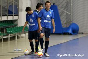 FC Kartuzy - KS Futsal Oborniki. W niedzielę pierwszy mecz tego sezonu I ligi w Kiełpinie