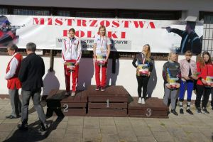 Diana Malotka - Trzebiatowska młodzieżową mistrzynią Polski