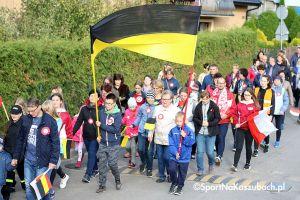 Marszem przez gminę uczcili 100 lat odzyskania niepodległości