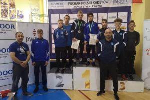Andrzej Drewa i Gor Hovsepyan z medalami Pucharu Polski Kadetów w Zapasach w Radomiu