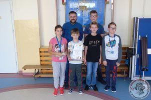 I miejsce Moniki Tusk w finale wojewódzkim Igrzysk Dzieci w Szachach Drużynowych w Kwidzynie