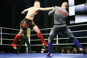 Mecz Polska - Węgry na Pucharze Kaszub w Kick - Boxingu i MMA 2018 w Kartuzach