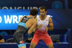 Gevorg Sahakyan powalczy o brązowy medal Mistrzostw Świata w Zapasach w Budapeszcie
