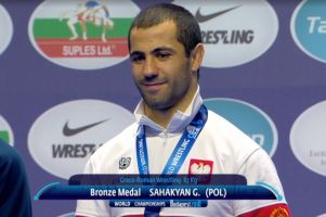 Gevorg Sahakyan medalistą mistrzostw świata. W świetnym stylu wygrał walkę o brąz