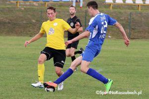Sporting Leźno - Gedania II Gdańsk. Mecz z golem na początek i golem na koniec