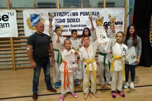 Judocy GKS-u Żukowo z medalami Mistrzostwa Pomorza Dzieci i Młodzików w Gdyni