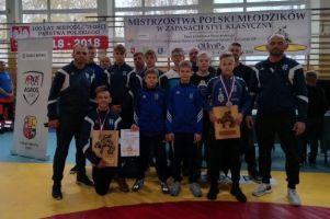 Natan Wolski i Leon Dera medalistami Mistrzostwa Polski Młodzików w Zapasach 2018