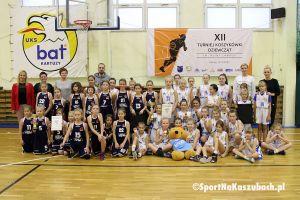 UKS Bat wygrał Turniej Koszykówki Dziewcząt im. Aliny Labudy w Kartuzach 2018