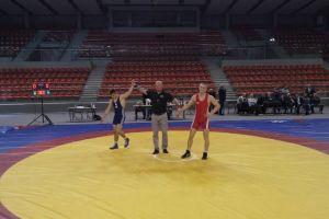 Aleksander Mielewczyk zdobywcą Pucharu Polski Juniorów w Zapasach w Wałbrzychu